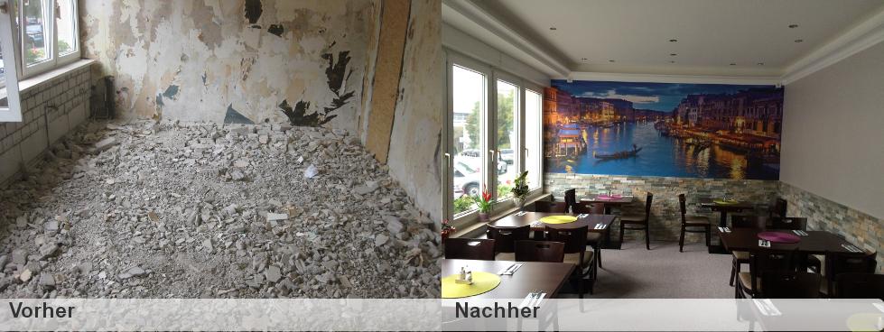 Renovierung - VORHER - NACHHER